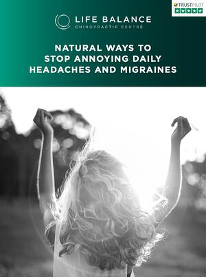 life balance stop annoying headaches and migraines